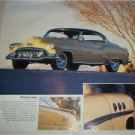 1952 Buick Super 2 dr Ht car print (yellow & black)