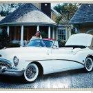 1953 Buick Skylark Convertible car print (white, no top)