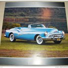 1953 Buick Skylark Convertible car print (blue, no top)