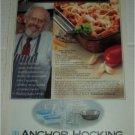 1992 Anchor Hocking Bakeware ad