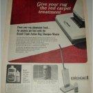 1967 Bissell Rug Shampoo Master ad