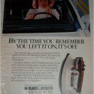 1985 Black & Decker Automatic Shut-off Iron ad