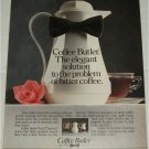 1986 Coffee Butler ad