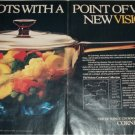 1983 Corning Ware Top-Of-Range Cookware ad