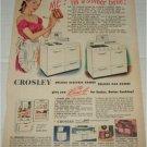 1947 Crosley Appliances ad