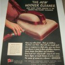 1945 Hoover Cleaner ad