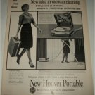 1962 Hoover Portable Vacum Cleaner ad