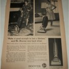 1963 Hoover Vacum Cleaner ad