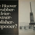 1967 Hoover Floor Care App;iance ad
