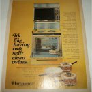 Hotpoint Self Cleaning Ovens ad