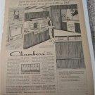 1963 Chambers Dishwasher ad