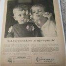1960 Chrysler Airtemp Air Conditioner ad