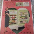 Crosley Shelvador Refrigerator ad