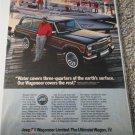 1983 American Motors Jeep Wagoneer ad