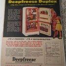 Deepfreeze Freezer & Refrigerator ad