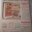 Deepfreeze Freezer ad