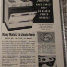 1954 Dixie Gas Range ad