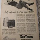 Duo-Therm Home Heater ad