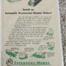 1949 Fairbanks-Morse Automatic Stoker ad