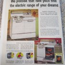 1953 Frigidaire Electric Ranges ad
