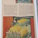1955 Frigidaire Dishwasher ad