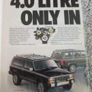 1987 American Motors Jeep Lineup ad