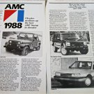 1988 American Motors article