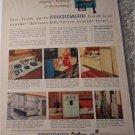 1957 Frigidaire Built In Appliances ad
