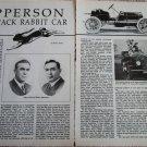 Apperson car article