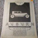 1926 Auburn 8-88 Brougham car ad