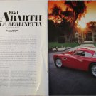 1950 Abarth 205 Salon car article
