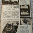 1955 Abarth Spyder car article
