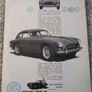 1960 AC Aceca ht car ad