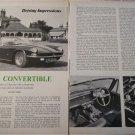 1967 AC 428 Convertible car article