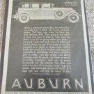 1927 Auburn 8-88 Sedan car ad #1