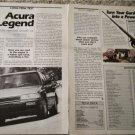 1987 Acura Legend Long Term Test car article #1