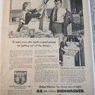 1952 GE Dishwasher ad