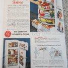 1954 GE Combination Refrigerator-Freezer ad