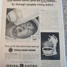 1954 GE Triple-Whip Mixer ad #1