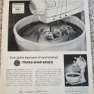 1954 GE Triple-Whip Mixer ad #3