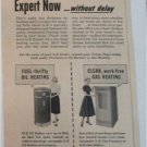 1954 GE Home Heating ad