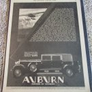 1930 Auburn Model 125 Phaeton Sedan car ad