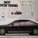 1987 Acura Legend 2 dr ht car ad