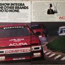 1988 Acura Integra car ad
