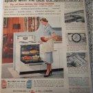 1955 GE Spacemaker Ranges ad