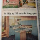1956 GE Electric Kitchen ad