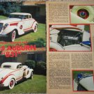 1935 Auburn 851 Coupe car article