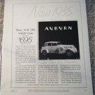 1935 Auburn Phaeton car ad