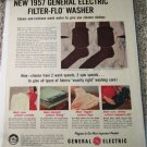 1957 GE Filter-Flo Washer ad #2