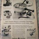 1957 GE Electric Saucepan ad
